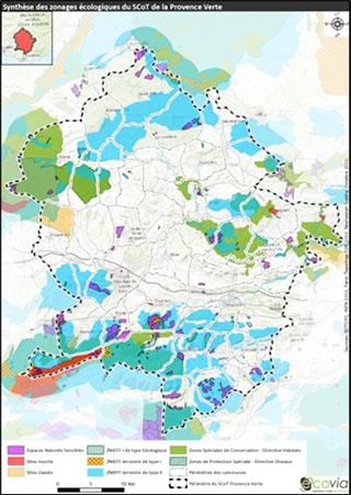 Élaboration de l'évaluation environnementale dans le cadre de la révision du SCoT Provence Verte